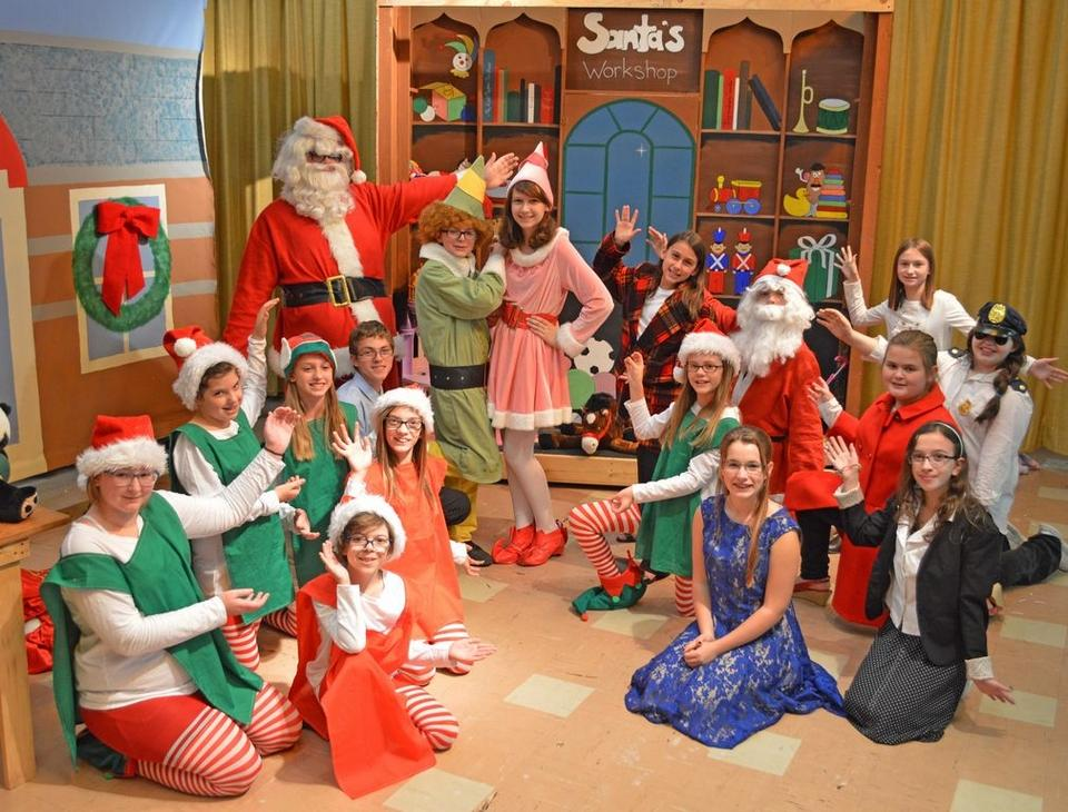 Wayne Highlands School District Damascus To Present Elf Jr This